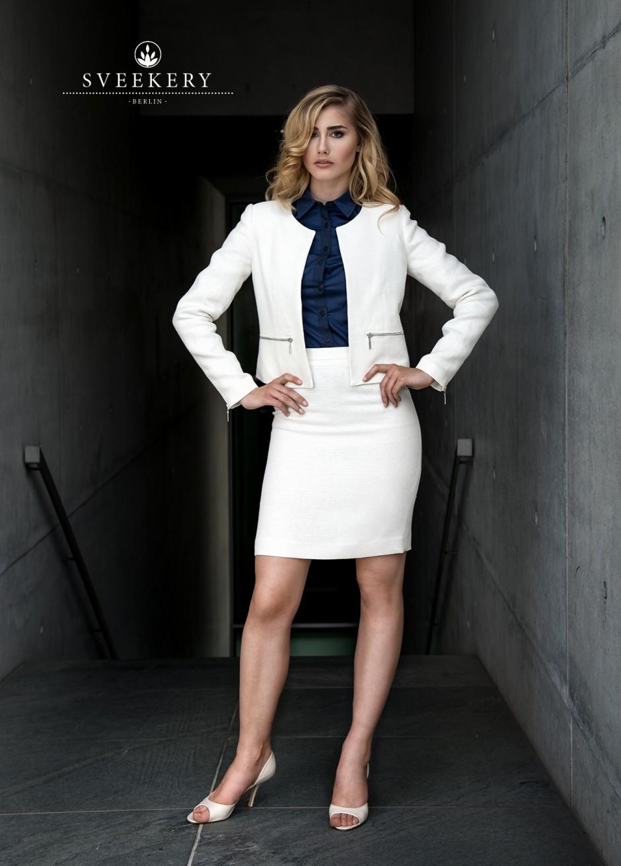 Hemp Organic Blazer + skirt / Hanf Bio Blazer + Rock